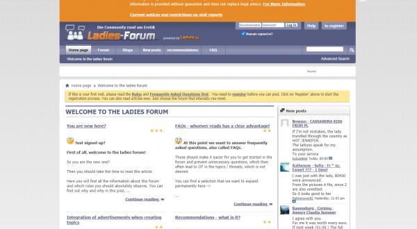 ladies forum escorts